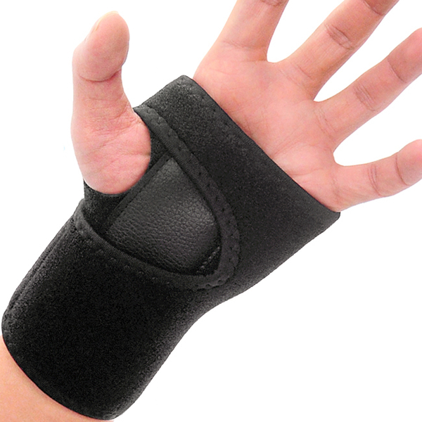 可調節加壓護腕(鋁板支撐)兩段式手掌纏繞束帶.調整鬆緊護手綁帶.雙重固定保護掌套.預防腕隧道