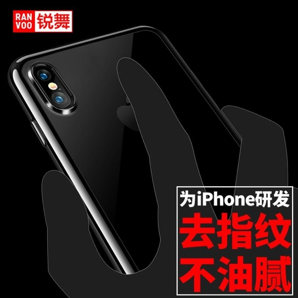 蘋果手機殼硅膠iPhoneX透明防摔套【聚寶屋】