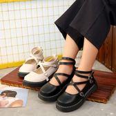 韓國小皮鞋女原宿學院風娃娃鞋   歐韓時代