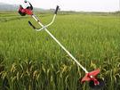 側掛式割草機/割灌機/草坪機小型割稻機蘆葦魚草等