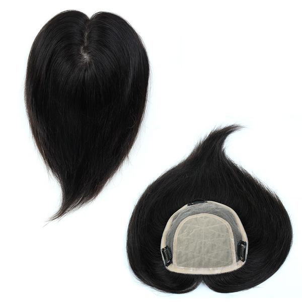 內網約17X15公分 髮長約30公分 100%真髮微增髮輕量補髮塊 女仕【RT37】