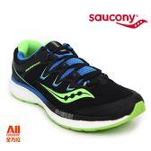 【Saucony】男款慢跑鞋 TRIUMPH ISO 4 輕量系列 -黑/藍(204134)全方位跑步概念館