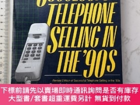 二手書博民逛書店Successful罕見Telephone Selling in the 90sY385290 Martin