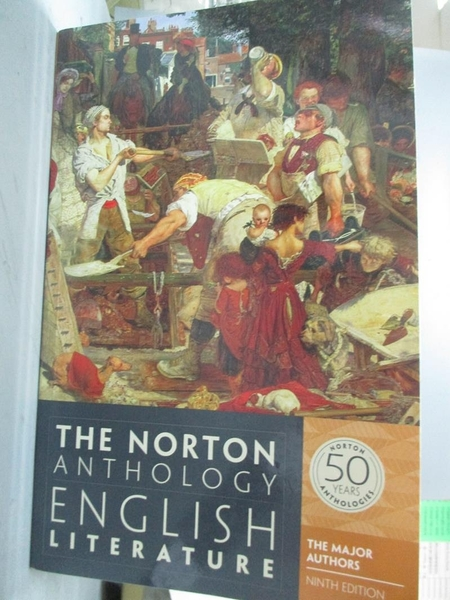 【書寶二手書T7/翻譯小說_XBV】The Norton Anthology of English Literature