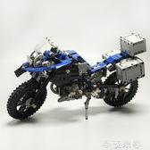 積木LEGO 科機機械組42063寶馬越野摩托車R1200兒童玩具男孩 igo摩可美家