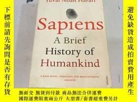 二手書博民逛書店Sapiens:罕見A Brief History of Hum