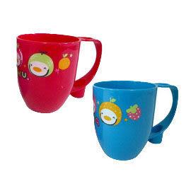 PUKU藍色企鵝 - 漱口杯(紅色)