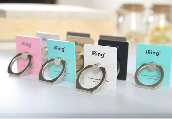 iRing 指環支架 指環扣 手機指環支架 防掉落 可當支架 iRing 指環 指環支架 6色馬卡龍