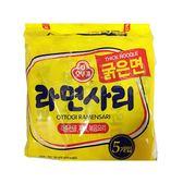 韓國不倒翁Q拉麵-粗麵條110gX5【愛買】