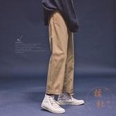 工裝褲女復古直筒寬鬆百搭顯瘦休閒褲【橘社小鎮】