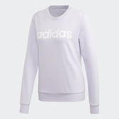Adidas 女款芋色ESSENTIALS 長袖上衣-NO.FM6432