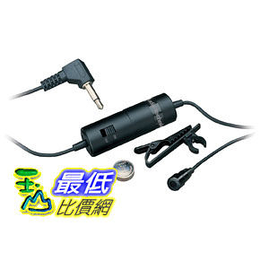 [美國直購 Shop USA] Audio-Technica ATR-3350 Lavalier Omnidirectional Condenser Microphone 電容式麥克風$1544