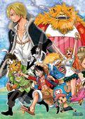 【拼圖總動員 PUZZLE STORY】奪回香吉士 日本進口拼圖/Ensky/海賊王 One Piece/500P