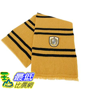 [106美國直購] 圍巾 Hufflepuff Scarf For Kids Or Adults