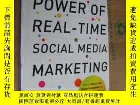 二手書博民逛書店POWER罕見OF REAL-TIME SOCIAL MEDIA
