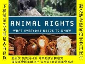 二手書博民逛書店Animal罕見Rights: What Everyone Ne