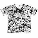 【KENZO】T-shirt MAN 短袖上衣(黑白)  F655TS0434CM 01