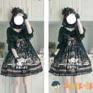 蘿莉塔套裝兒童洋裝童lolita裙子公主裙中袖【淘嘟嘟】