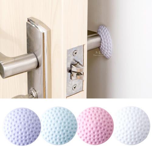 防撞門墊 自黏式高爾夫球加厚防撞靜音門墊 單個入 門卡