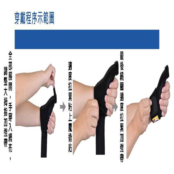 護具 護腕 GoAround  透氣可調式大拇指固定護腕(1入)醫療護具 媽媽手 拇指固定