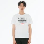 BigTrain引擎圖騰基本直腰短袖T恤上衣-男-漂白/黑-Z80180
