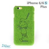 iPhone 6/6s Plus 手機殼 日本 獨家代理 草地/草皮 硬殼 5.5吋 Shibaful -四草妹妹