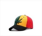 FIND 韓國品牌棒球帽 男 街頭潮流 葉子刺繡 拼接 歐美風 嘻哈帽  街舞帽