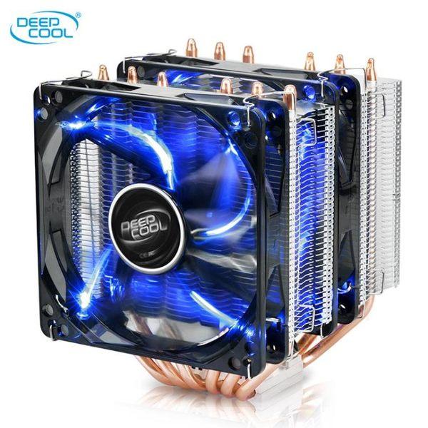 玄冰300/400大霜塔冰凌mini熱管CPU散熱器電腦風扇 京都3C