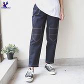 American Bluedeer-膝蓋雙口袋褲(魅力價) 春夏新款