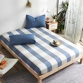 單件全棉水洗棉床笠純棉床罩床墊套榻榻米單人床床包樂淘淘