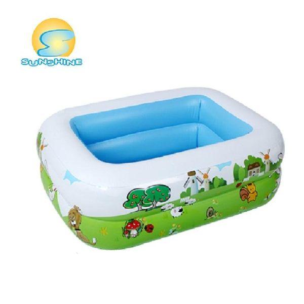 超大型家庭兒童充氣加厚泳池xx1628 【VIKI菈菈】