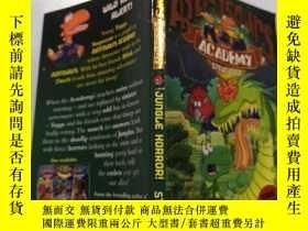 二手書博民逛書店Jungle罕見horror:叢林恐怖.Y212829