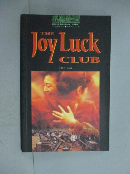 【書寶二手書T7/原文小說_HDM】The Joy luck club_Amy Tan; retold