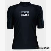 BILLABONG 男 ALL DAY WAVE PF SS短袖防磨衣-黑 9771012BLA【GO WILD】