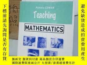二手書博民逛書店罕見實拍;teaching mathematicsY218464