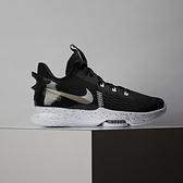 Nike LeBron Witness V EP 男款 黑白 氣墊 避震 包覆 籃球鞋 CQ9381-002