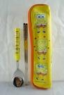 【震撼精品百貨】SpongeBob SquarePant海棉寶寶~叉子湯匙組