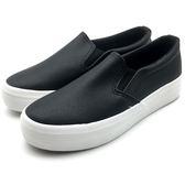 《7+1童鞋》女段 輕便透氣 百搭柔軟 休閒鞋 懶人鞋 E294 黑色