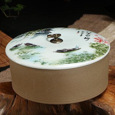 儲物罐老岩泥仿古陶瓷特價(圖一)1