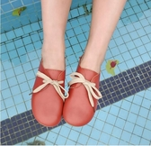 豆豆鞋豆豆鞋女春季新款女鞋百搭韓版學生單鞋森女系鞋子平底小白鞋 可然精品