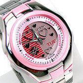 CASIO卡西歐LCF-10D-4A雙顯錶 粉紅配色 愛心 36mm 女錶 電子錶 學生錶 日期 兒童手錶 LCF-10D-4AVDR
