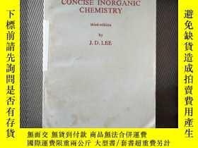 二手書博民逛書店a罕見new CONCISE INORGANIC CHEMISTRYY239696 J.D.LEE THIRD