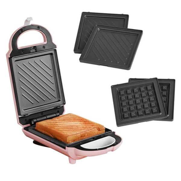 麵包機麥子廚房多功能早餐機三明治機華夫餅機寢室宿舍神器面包三文治機 LX 衣間迷你屋