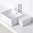 【麗室衛浴】洗臉盆 英國 LIVING  2230 方型台面盆