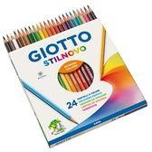 【義大利 GIOTTO】256600  STILNOVO 學用六角彩色鉛筆(24色) /盒