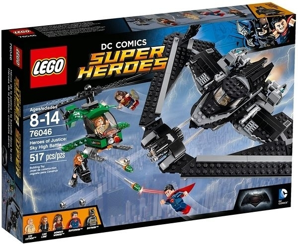 76046【LEGO 樂高積木】超級英雄 Heroes of Justice : Sky High Battle
