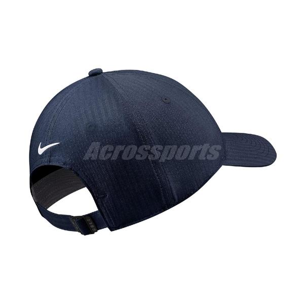 Nike 帽子 Legacy 91 藍 白 高爾夫球帽 遮陽 排汗 可調式設計 運動休閒 【ACS】 BV1076-419