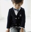雙排扣棉質梭織西裝小外套 花童 西裝外套...