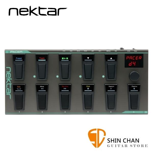 Nektar Pacer Midi 踏板控制器 原廠公司貨【Hands-free DAW and MIDI Control】