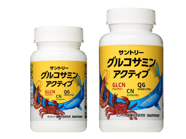 【一期一會】【現貨】SUNTORY三得利 固力伸 葡萄糖胺+鯊魚軟骨 30日分 180錠/瓶 日本原裝境內版